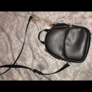 Mini shoulder backpack